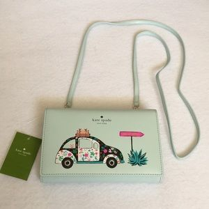 BN KATE SPADE CROSSBODY WINNI OUT OF OFFICE NWT